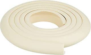 L-shaped Baby Safety Table Edge Corner Protector Guard Cushion Anti-collision Strip Bumper Strip,2M ivory
