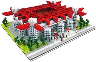 Sports Stadium 3D Model, AC Milan San Siro Stadium Model Souvenir DIY Plastic Building Model (3800), Gift Set, 11