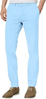 Men's Slim Fit Stretch Chino Pants, Chambray Blue