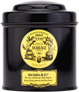 Mariage Frères Grüner Tee Bouddha Bleu reife Früchte und Kornblume in Dose 100 g