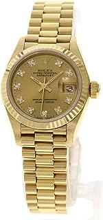 [ロレックス]デイトジャスト 69178G 腕時計 K18イエローゴールド/K18YG レディース (中古)