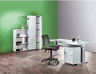 MULTI Armoire de bureau - h x l x p 1880 x 800 x 330 mm - gris clair - armoire armoire de bureau armoire pour bureau armoi...