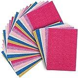 Bright Creation hojas de cartón corrugado para manualidades (tamaño A4, 6 colores, 30 un...