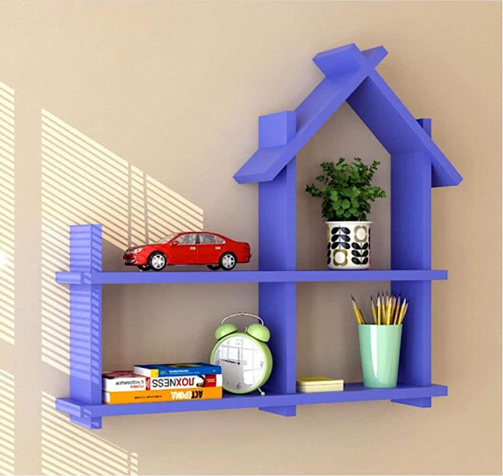レジ事前眼子供の部屋は小さな家の壁の棚、リビングルームの壁掛けサブグリッド装飾キャビネット(色:赤)を結合
