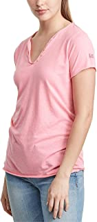 Womens Tunisien T-Shirt, Xs, Pink