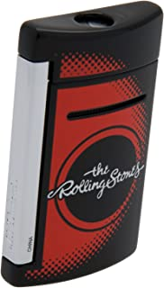 S.T. Dupont Rolling Stones Black MiniJet Lighter Limited Edition Tongue And Lips 010110RS