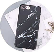 for iPhone 7 Plus Marble Phone Cases for iPhone 7 6X8 6s Plus Stone Image Pattern TPU Silicone Back Case Housing,SLA095,for iPhone 6s Plus