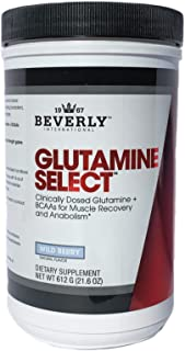 Beverly International Glutamine Select, 60 Servings. Clinically dosed glutamine and BCAA Formula for Lean Muscle and Recov...