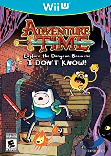 Adventure Time: Explore the Dungeon Because I DON'T KNOW! WiiU by D3 Publisher [並行輸入品]