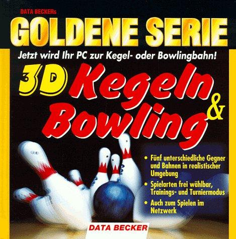 Goldene Serie. 3D Kegeln und Bowling. CD- ROM für Windows 95/98. Jetzt wird Ihr PC zur Kegel- oder Bowlingbahn