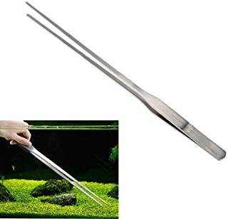 BinaryABC Aquarium TweezersStainless Steel Feeding Straight Tweezer 27cm
