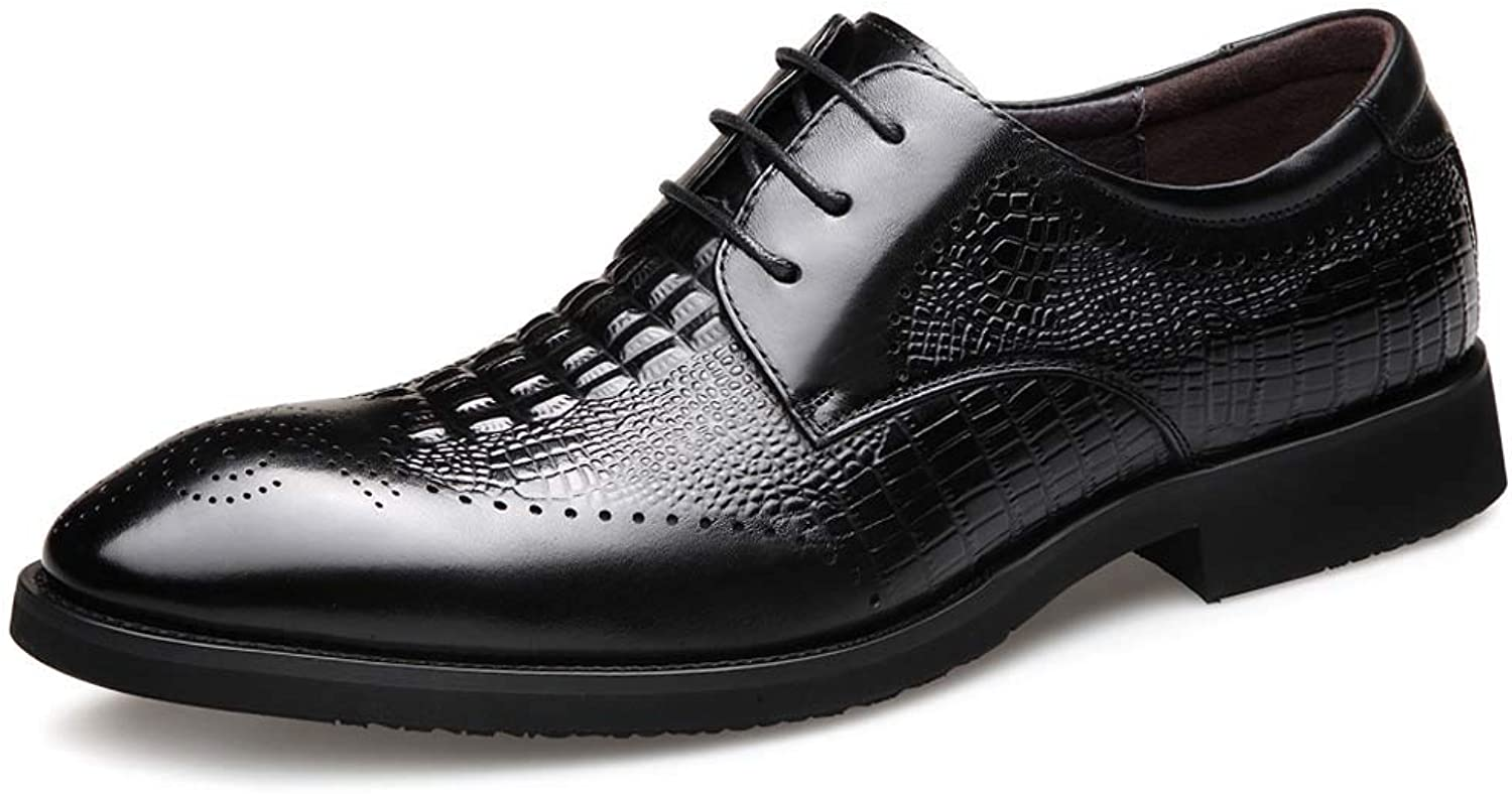 Men's Leather shoes Men's Business Dress shoes Leather Pointed Casual shoes