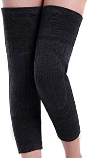 1 Pair Knee Sleeve Thickened Cashmere Knee Brace Knee Pads Leg Warmers Knee Guard for Winter Arthritis Joint Pain Relief