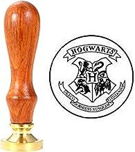 Harry Potter Wachs Siegel Hogwarts Schulabzeichen Klassische Stempel Siegel Stick Als Geschenk von Halloween Weihnachten und Geburtstag LTXDJ Wachs Siegel Stempel Kit