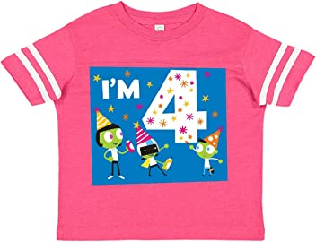 inktastic My Little Brother Loves Me with Del Long Sleeve Creeper PBS Kids