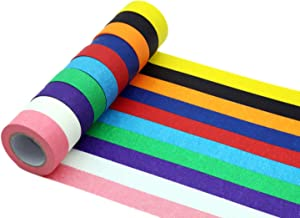 verde MoGist Washi Tape semplice sfumatura monocolore modello Masking Tape adesivo decorativo per fai da te Craft Scrapbook decorazione regalo colore casuale 0.9cm*3m