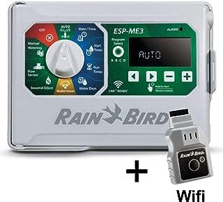 Rain-Bird Controller Indoor Outdoor Lawn Irrigation Sprinkler Timer ESPME3 (with WiFi)