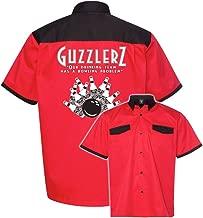 Guzzlers Stock Print on Anchor Man Bowling Shirt