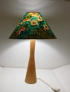 Lampada decorata a mano