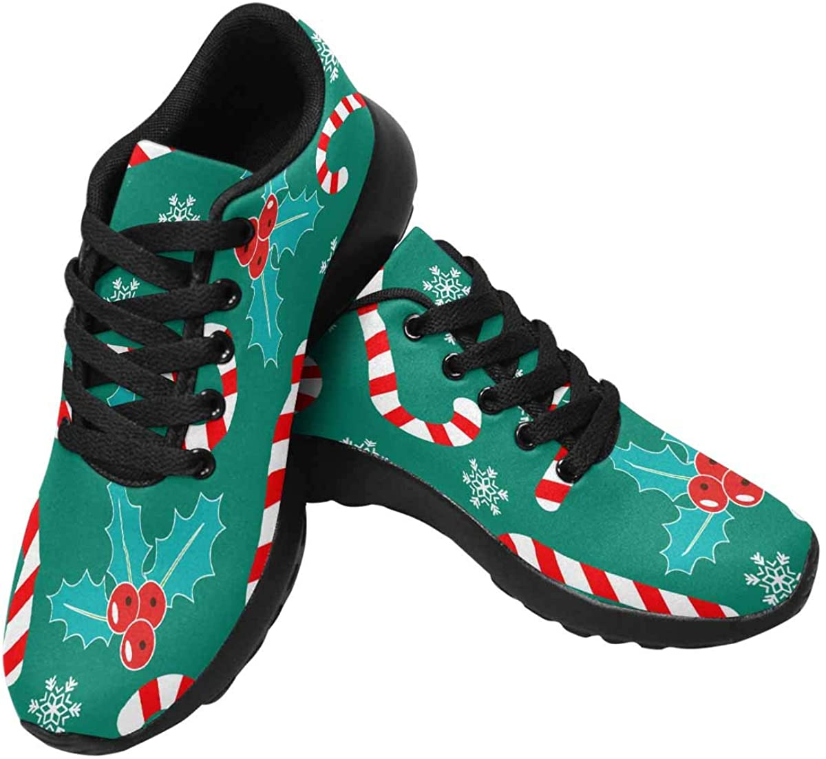 InterestPrint Romantic OFFicial store Christmas Pattern Li Womens Running Shoes Quality inspection