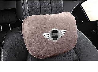 NIUASH Car seat headrest Neck Pillow backrest Neck Support,for BMW Mini JCW Countryman 2015~2020