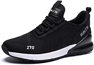 Kvovzo Men's Running Shoes Mesh Cycling Fashion Sneakers Athletic Tennis Sport Shoe Cross Trainer Outdoor Boot for Men Fitness