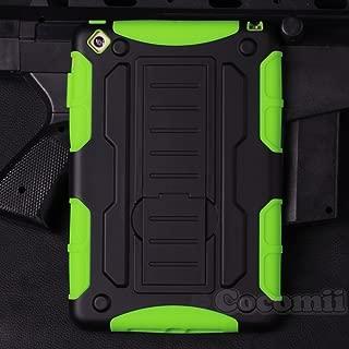 Cocomii Robot Armor iPad Mini 3/2/1 Case New [Heavy Duty] Premium Tactical Grip Kickstand Shockproof Bumper [Military Defender] Full Body Dual Layer Rugged Cover for Apple iPad Mini 3/2/1 (R.Green)