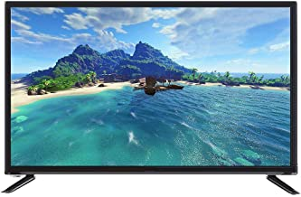 $547 » 32-inch Large Screen TV, Voice TV with Artificial Intelligence with Ultra-Narrow bezels (Full HD, Display, CD/DVD, Smart T...