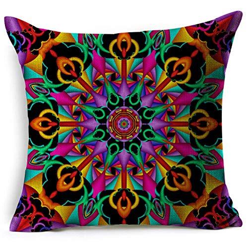 Almohada Decorativa para el hogar FundadeAlmohada Finapara Cojines de Asiento de sillón de sofá 45 × 45 CM con núcleo de Almohada