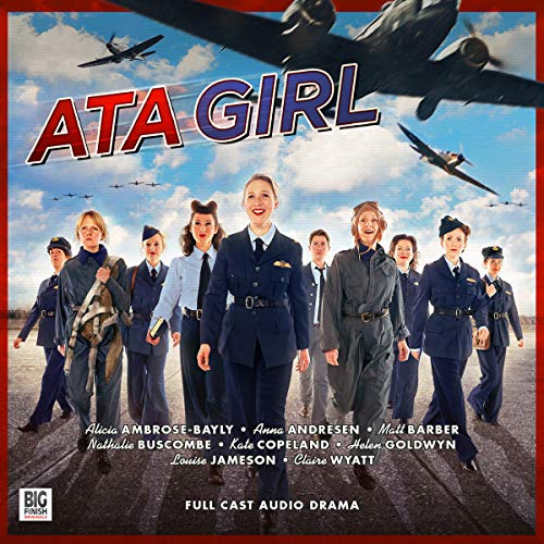 ATA Girl audiobook cover art
