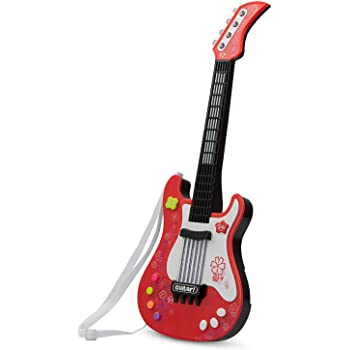 Little Rock Star Guitar for Children COLOR TREE Kids Electric Guitar Play Set with Microphone Speaker and Stand for Toddlers guitarras acusticas para ni/ños Blue