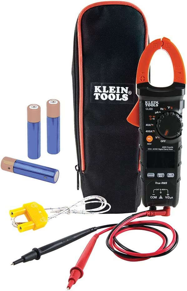 Klein Tools CL380 Electrical Tester and Non Meter Digital Clamp Free shipping on posting reviews Tampa Mall