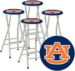 Best of Times Collegiate Bar Stools, Auburn, Set of 4
