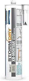 comprar comparacion Stormdry DM XR MORTAR Mortero reparador-listo para usar mezcla sin cemento 310ml tubo, Arena gris