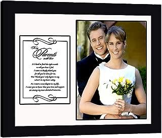 Parents Thank You Card, Wedding, Graduation, Add Photo