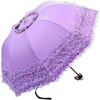 3- foldCompact Sun&Rain Travel Umbrella Lightweight Portable Outdoor Golf Umbrella with 95% UV Protection