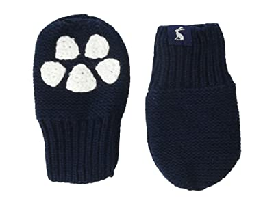 Joules Kids Paws Gloves (Infant) (French Navy) Dress Gloves