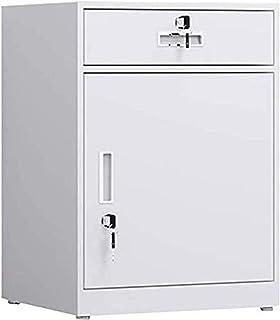 Classeurs Classeur-durable Bureau simple armoire de rangement, tiroirs Gestionnaire avec 1 tiroir 1 porte, avec serrure et...