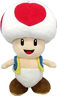 "Sanei Super Mario All Star Collection 7.5"" Toad Plush, Small"
