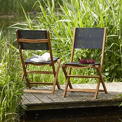 Bois Dessus Bois Dessous 4003B Chaise de Jardin, Naturel