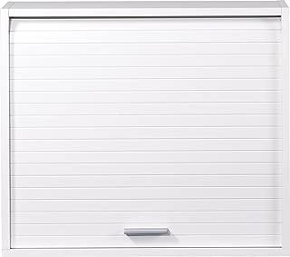 SIMMOB COOK056BL - Mueble de Cocina con persiana (25x60x53,6cm), Color Blanco