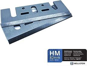 6/r/éversible Lames de rabot 82/mm x 5,5/mm HSS Bosch Noir et Decker Dewalt NEUF