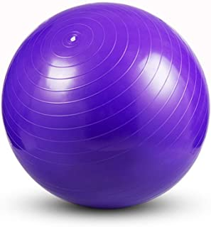 WXYXG Yoga Ball, Gym Ball Smooth Thicken Explosion-Proof Yoga Ball (Color : #1, Size : 55cm)
