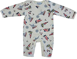 6-12 and 12-18 Months Powell Craft Union Jack Baby Grow 0-6