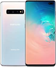Samsung Galaxy S10+ Plus G975F GSM Unlocked Smartphone (Renewed) (Prism White, 128GB)