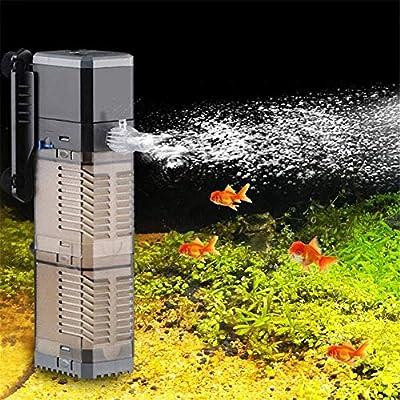 SUNSUN CHJ902 900L/h 20W Height Max1.5m Fish Tank Filter 3-in-1 Aquarium Submersible Pump Water Pump for Fish Tank (CHJ-902 900L/h)