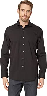 Bugatchi Men's Long Sleeve Shaped Woven Shirt