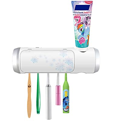 UV Toothbrush Holder with Sterilization Functio...