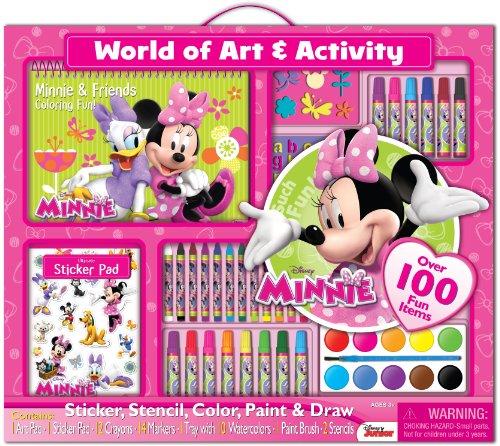 Bendon Disney Minnie Mouse Giant Art Set