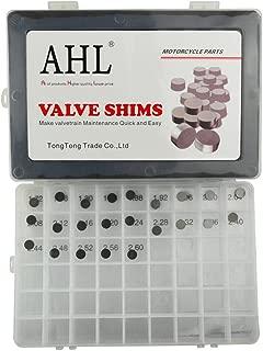 AHL 8.9mm O.D. 1.72mm-2.60mm Thick Adjustable Valve Shim Kit for KTM 250 SX-F 2005-2014 (23pcs)